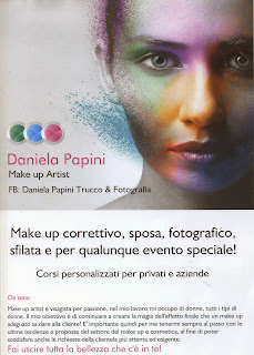 volantino professionale make up