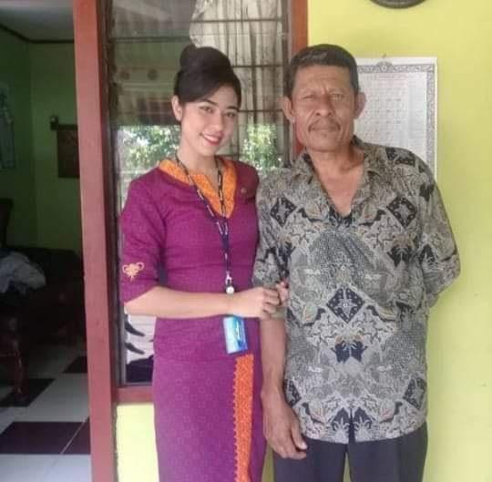 Foto-foto Mia Trisetyani Wadu, Pramugari Sriwijaya Air Asal Sabu-NTT
