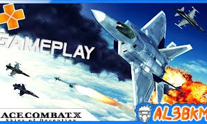 تحميل لعبة ACE COMBAT X - SKIES OF DECEPTION PSP لمحاكي ppsspp