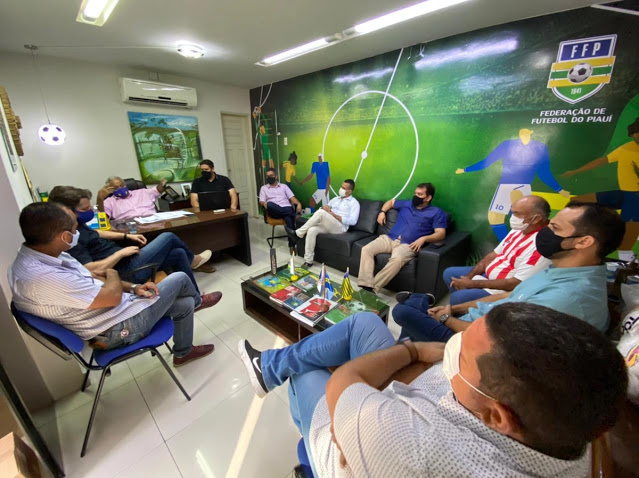 FPF se reuni com os representantes dos seis times que participarão da serie - B do Piauiense