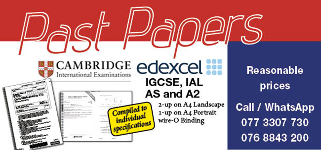 Past Papers - Edexcel & Cambridge [IGCSE, GCE, IAL, AS & A2]