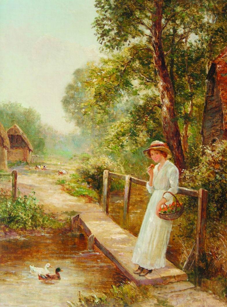 Victorian British Painting Ernest Walbourn
