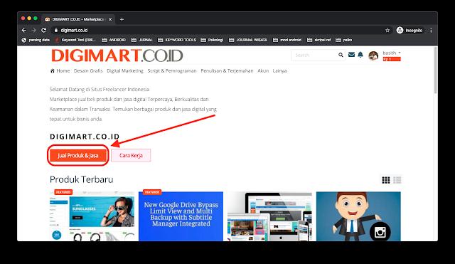 Digimart : Situs Freelancer Indonesia