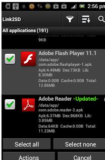 Cara Memindah Apk Android ke SD Card dengan Link2SD