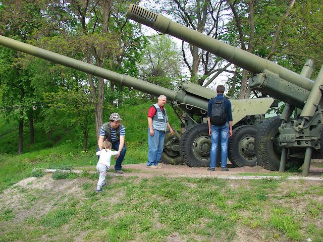 Гаубицы калибром 152 мм