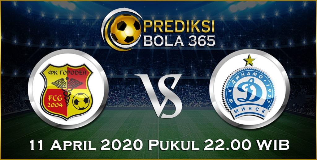 Prediksi Skor Bola Gorodeya vs Dinamo Minsk 11April 2020
