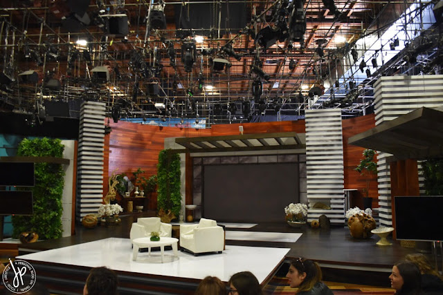 studio set for tv show