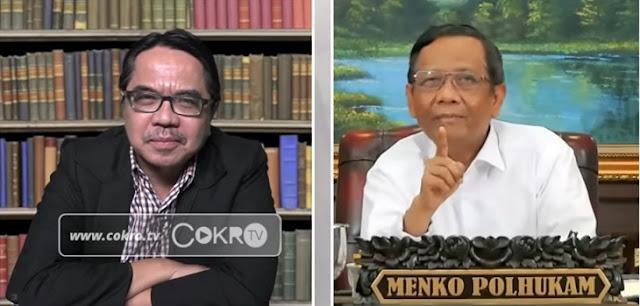 Mahfud MD Sebut Habib Rizieq Dicekal karena Terima Amplop, Liues Sungkharisma Desak Jokowi Jangan Diam