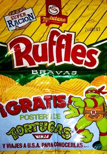 Bolsa Ruffles Las Tortugas Ninja Matutano 1