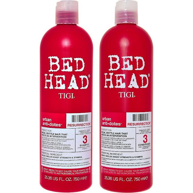 tigi bed head resurection shampoo and conditioner duo