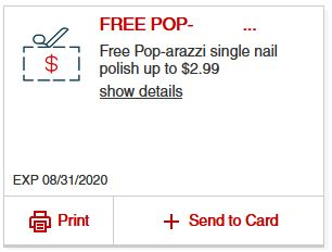 Load FREE Poparazzi nail polish Birthday Gift from CVS (Gift will vary by customer)