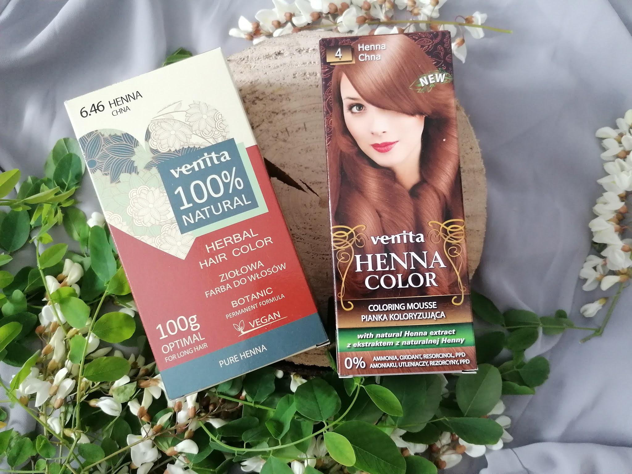 Venita wegańska farba do włosów