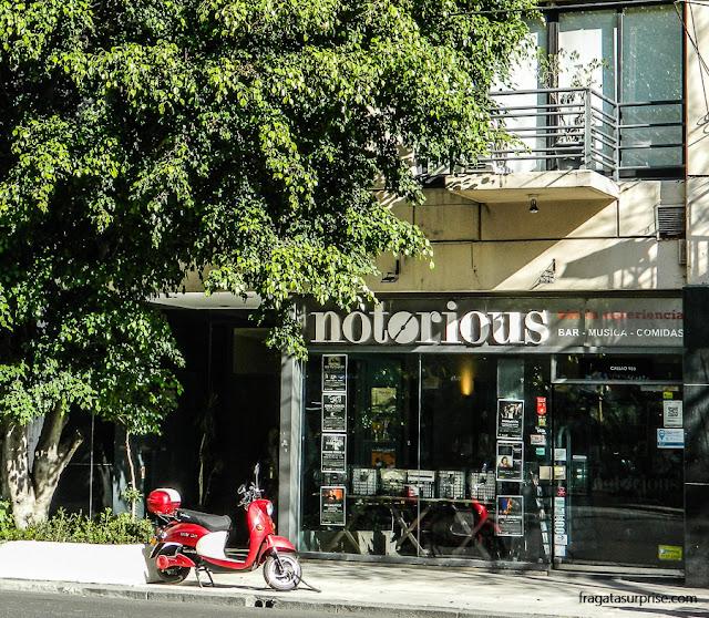 Notorious, clube de jazz e loja de CDs em Buenos Aires