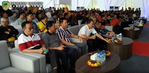 Bupati Barut Hadiri Undangan Peresmian Kantor Jhonlin Grup