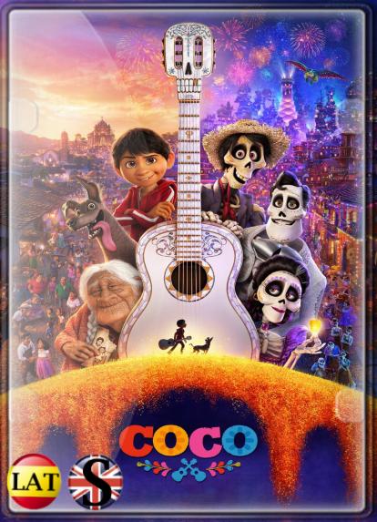 Coco (2017) FULL HD 1080P LATINO/INGLES