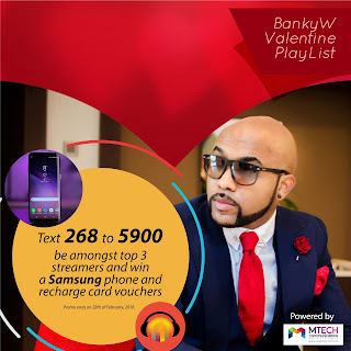 Banky W has loads of surprises for fans this Valentine Season