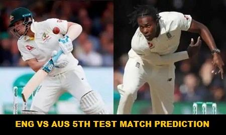 England vs Australia 5th Test Match Prediction & Betting