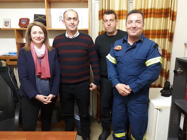 Η Ένωση Πυροσβεστών Αργολίδας συναντήθηκε με τον νέο Διοικητή του νομού