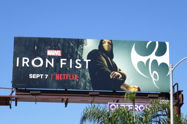 Iron Fist season 2 billboard