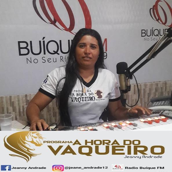 Programa a hora do vaqueiro, apresentado pela radialista Jeanne Andrade  está prestes a completar 18 anos liderando todas  as audiências
