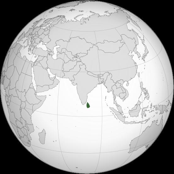 Swart Donkey Sri Lanka - Where is sri lanka