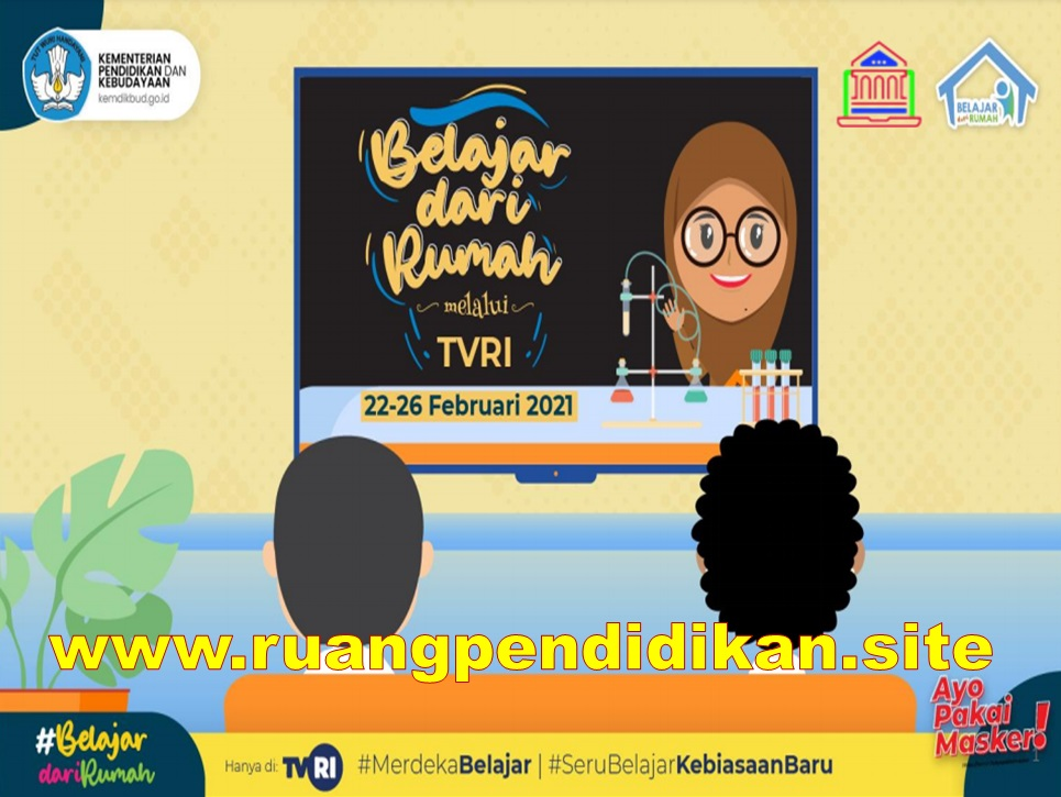 Jadwal Dan Materi BDR Di TVRI minggu ke delapan