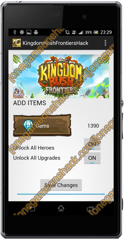 kingdom rush hack
