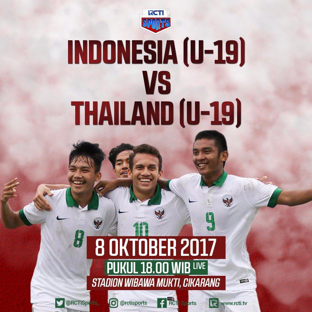 Timnas U 18: Jadwal Siaran Langsung Timnas Indonesia U-19 Vs Thailand