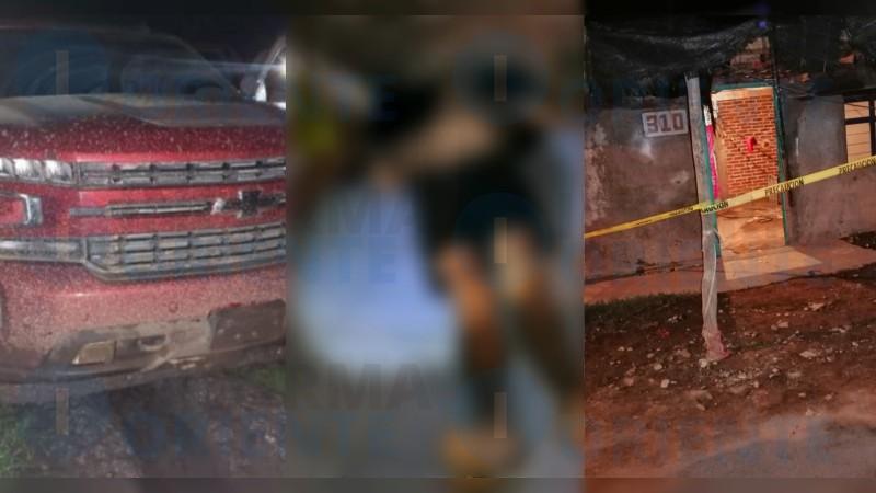 Convoy de Sicarios ataca a Policías Municipales y matan a 4 personas entre ellas a una embarazada y una adolescente