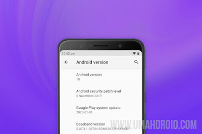 Update Android 10 Asus Zenfone Max Pro M1