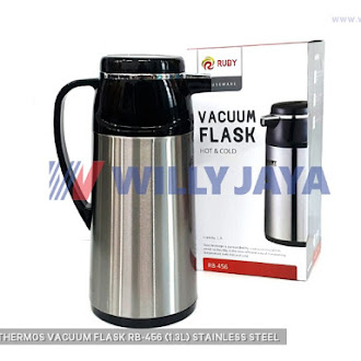 RUBY - THERMOS/ VACUUM FLASK RB-456 (1.3L) STAINLESS STEEL