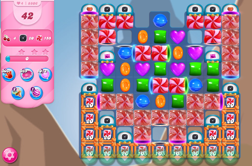 Candy Crush Saga level 8806