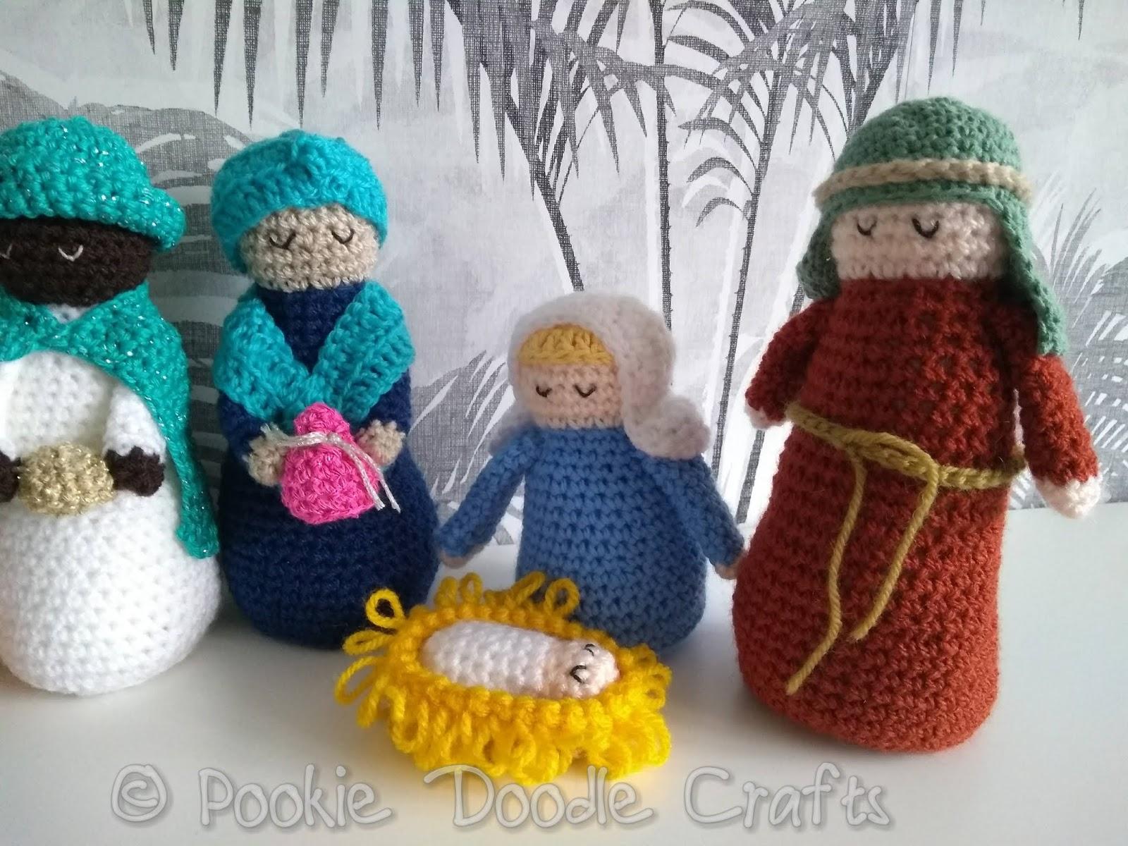 Crochet Nativity Set - Free Crochet Pattern | 1200x1600