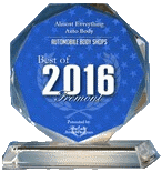 2016 Best of Fremont-Best Auto Body Shop-Almost Everything Auto Body