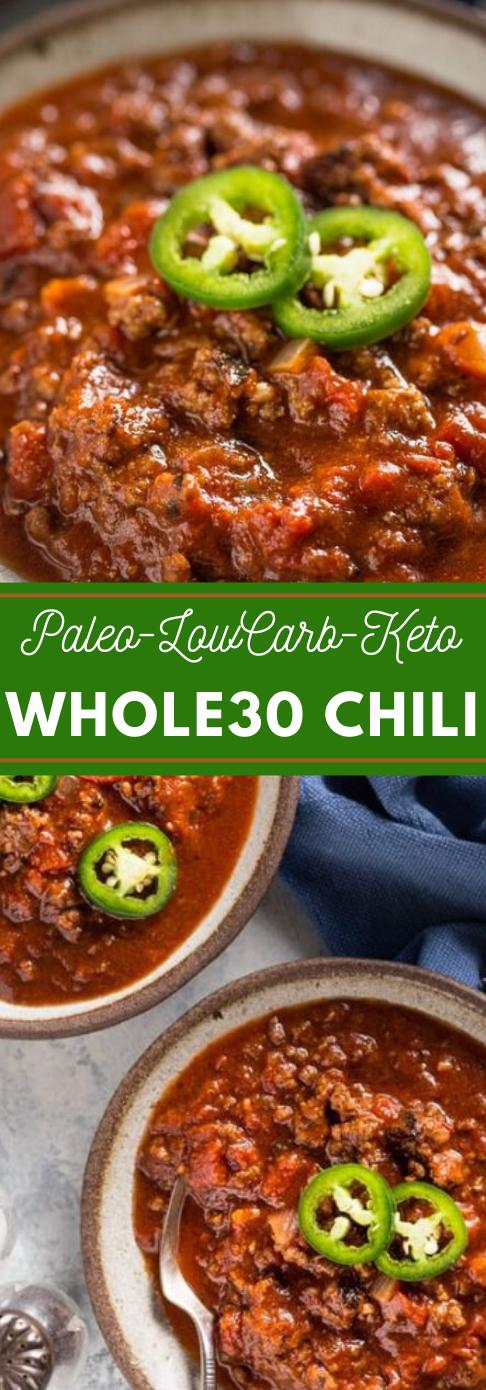 Keto Chili #keto #recipes #chili #paleo #lowcarb