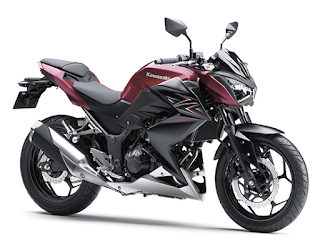 Kawasaki Z250 Non-ABS terbaru 2016 merah