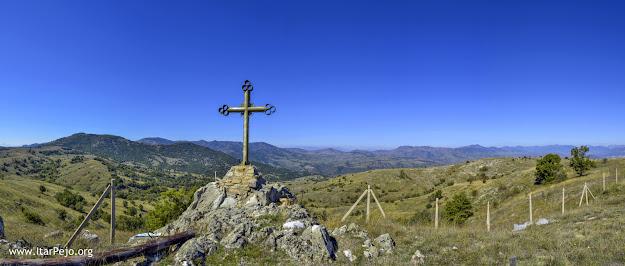 View from the Monastery St. Atanasij near village Staravina