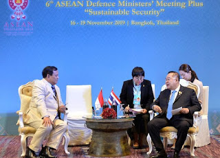Prabowo Subianto Hadiri ADMM di Bangkok