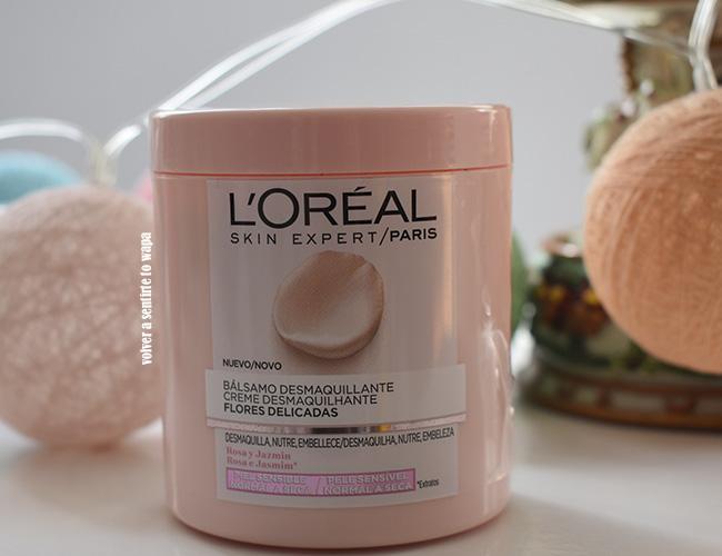 Bálsamo desmaquillante para piel sensible Flores Delicadas de L'oreal