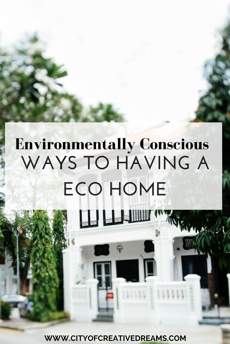 ways to be environmentally conscious