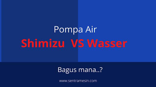 Pompa Air Shimizu VS Wasser