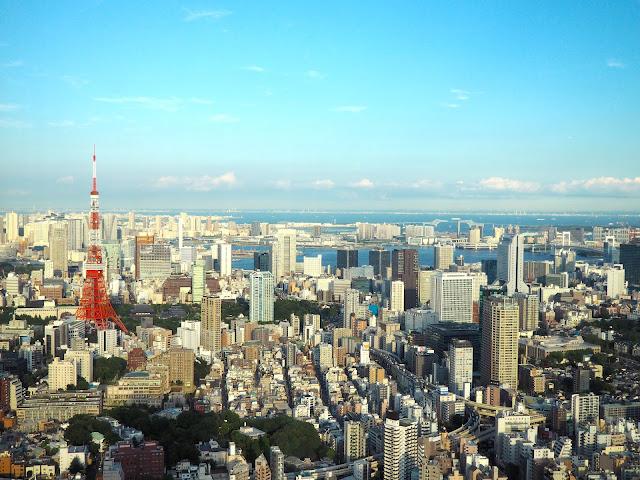 Tokyo city skyline, Japan