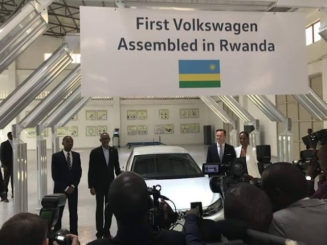 Rwanda Officialy Launches Volkswagen (VW) Assembly Plant
