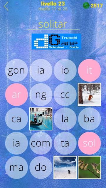 650 Foto soluzione pacchetto 23 livelli (1-25)