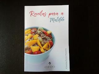 capa do livro receitas para a Matilde