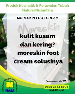 Moreskin Foot Cream Solusi Kulit Kaki Kasar, Kering, Pecah2