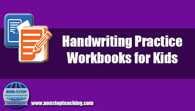 Handwriting Practice Workbooks for Kids
