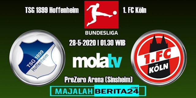 Prediksi TSG Hoffenheim vs FC Koln