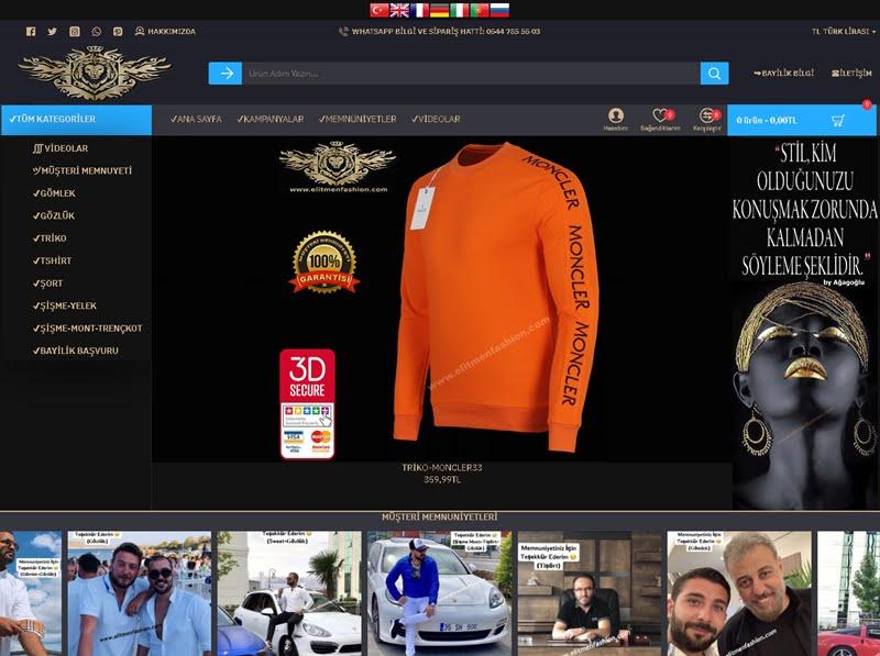 Elit erkeklerin modayı takip ettiği adres: Elitmenfashion.com