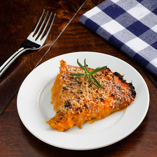 Sweet Potato and Rosemary Casserole